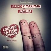 Contigo la Paso Cabron (feat. Jamsha) by J King y Maximan