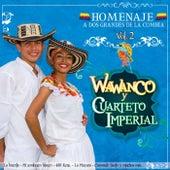 Homenaje a Dos Grandes de la Cumbia: Wawancó y Cuarteto Imperial, Vol. 2 de Various Artists
