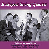 Wolfgang Amadeus Mozart: String Quartet No. 22 In B Flat Major, KV 589 - String Quartet No. 23 in F Major, KV 590 by Budapest String Quartet