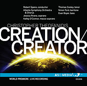 Theofanidis: Creation/Creator (Live) von Various Artists