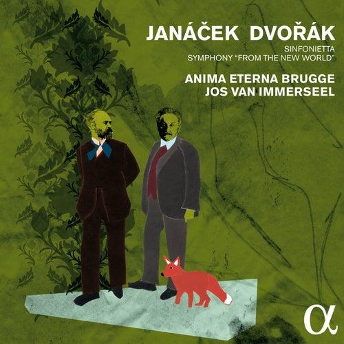 Janáček, Dvořák & Smetana: Orchestral Works (Live) by Anima Eterna Brugge