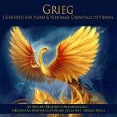 Grieg: Piano Concerto, Op. 16 - Schumann: Carnevale di Vienna, Op. 26 de Various Artists