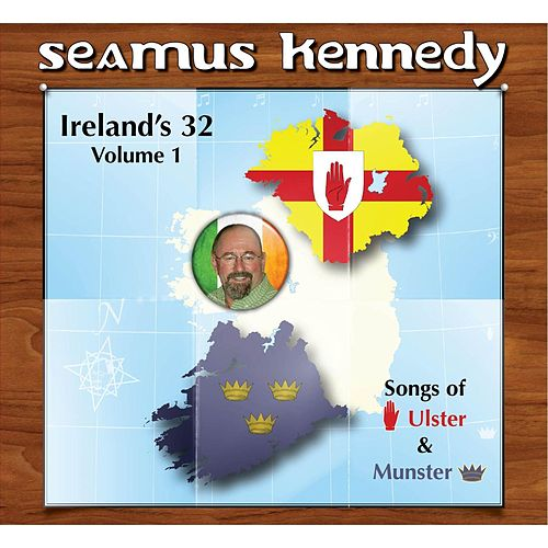 Ireland's 32, Vol. 1 by Seamus Kennedy