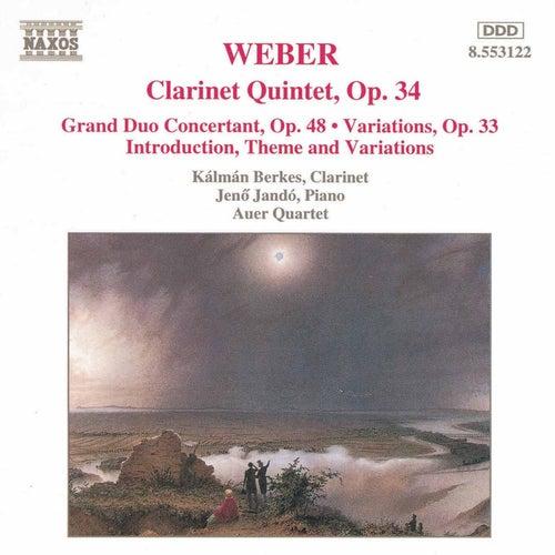 Clarinet Works by Carl Maria von Weber