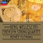 Berg: Lyric Suite; Wellesz: Sonnets By Elizabeth Barrett Browning, Op.52 by Various Artists