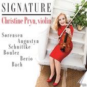Signature de Christine Pryn