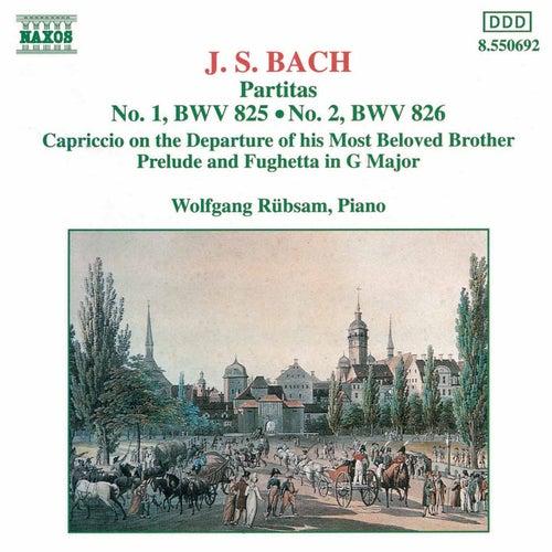 Partitas Nos. 1 and 2 by Johann Sebastian Bach