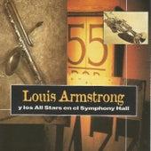 Louis Armstrong y los All Stars en el Symphony Hall de Louis Armstrong
