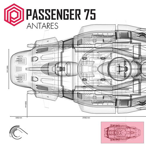 Antares by Passenger 75