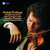 Korngold & Conus: Violin Concertos von Itzhak Perlman
