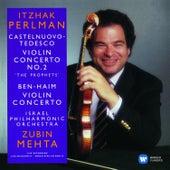 Castelnuovo-Tedesco & Ben-Haim: Violin Concertos di Itzhak Perlman