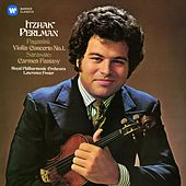 Paganini: Violin Concerto No. 1 - Sarasate: Carmen Fantasy by Itzhak Perlman