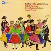 Bartók: Violin Concerto No. 2 by Itzhak Perlman