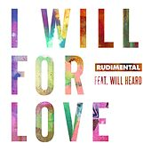 I Will For Love (feat. Will Heard) by Rudimental