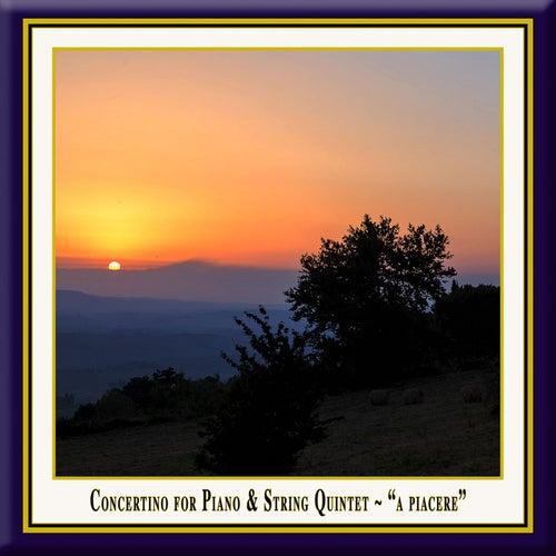 Schmidinger: Concertino for Piano & String Quintet 'A piacere' by Christoph Soldan