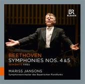 Beethoven: Symphonies Nos. 4 & 5 - Šerkšnytė: Fires von Symphonie-Orchester des Bayerischen Rundfunks
