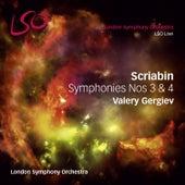 Scriabin: Symphonies Nos 3 & 4 by Valery Gergiev
