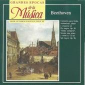 Grandes Épocas de la Música. Beethoven: Concierto Op. 56, Sonata No. 10 Op.96 by Various Artists