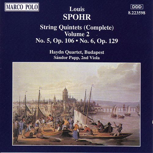 String Quintets  Nos. 5 and 6 by Louis Spohr