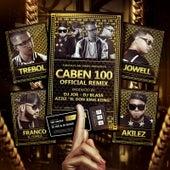 Caben 100 (Remix) [feat. Jowell, Akiles & Franco El Gorila] by Trebol Clan