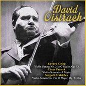 Edvard Grieg:  Violin Sonata No. 2 In G Major, Op. 13 - César Franck: Violin Sonata in A Major - Serguéi Prokófiev: Violin Sonata No. 2 in D Major, Op. 94 Bis by Vladimir Yampolsky
