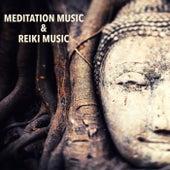 Meditation Music & Reiki Music - 25 Meditation Songs & Reiki Healing Music for Music Therapy by Reiki Healing Music Ensemble