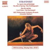 Le sacre du printemps / Jeu de cartes de Igor Stravinsky