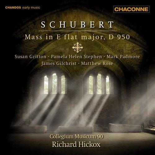 SCHUBERT: Mass in E flat major, D. 950 (Hickox) by James Gilchrist