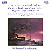 Opera Intermezzi and Preludes by Various Artists