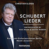 Schubert: Lieder (Orch. by Max Reger & Anton Webern) by Christian Elsner