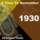 A Time To Remember 1930 de Various Artists