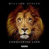 Conquering Lion by Million Stylez