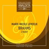 Brahms by Marie Nicole Lemieux