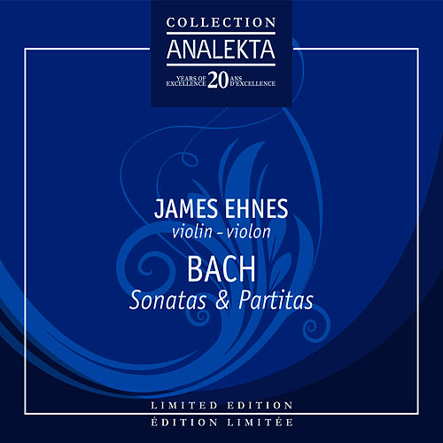 Bach: The Six Sonatas & Partitas for Solo Violin by Johann Sebastian Bach