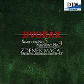 Dvorak: Symphonies No. 5 & No. 9 from the New World by Czech Philharmonic Orchestra