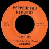 Temptress b/w Strangulation by Medusa