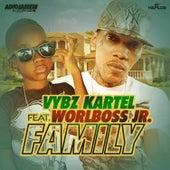 Family (feat. Worlboss Jr.) - Single by VYBZ Kartel