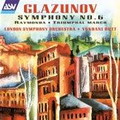 Glazunov: Symphony No. 6; Raymonda; Triumphal March de Yondani Butt