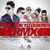 Yo Se Que Tu Quieres (Official Remix) [feat. Ñengo Flow, Farruko & Opi] de Falsetto & Sammy