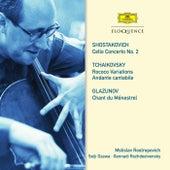 Shostakovich: Cello Concerto No. 2. Tchaikovsky: Rococo Variations; Andante cantabile. Glazunov: Chant du Ménestrel by Mstislav Rostropovich