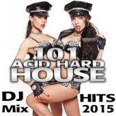 101 Acid Hard House DJ Mix Hits 2015 de Various Artists