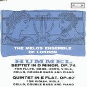 Hummel: Septet; Quintet by The Melos Ensemble Of London