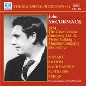 John McCormack: The Gramophone Company Ltd. & Victor Talking Machine Company Recordings by John McCormack