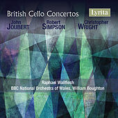 British Cello Concertos by Raphael Wallfisch