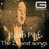 The 25 best songs de Edith Piaf