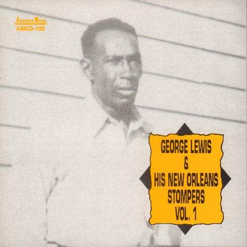 George Lewis and His New Orleans Stompers, Vol. 1 by George Lewis