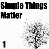 Simple Things Matter, Vol. 1 by Various Artists