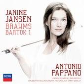 Brahms: Violin Concerto; Bartók: Violin Concerto No.1 de Janine Jansen