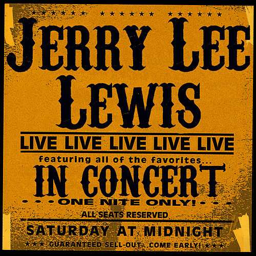 In Concert by Jerry Lee Lewis