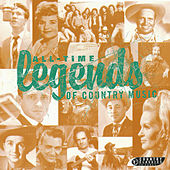 All-Time Legends Of Country Music de Various Artists